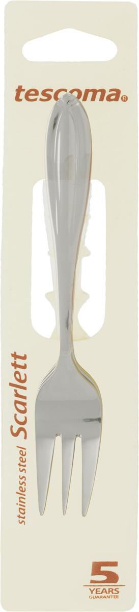 Набор десертных вилок Tescoma Scarlett, 3 шт392325Набор Tescoma Scarlett состоит из 3 десертных вилок, изготовленных из высококачественной нержавеющей стали. Приборы оформлены зеркальной полировкой, что придает им строгость и изысканность.Десертные вилки Tescoma Scarlett прекрасно подходят для сервировки стола, как в домашнем быту, так и в профессиональных заведениях - кафе, ресторанах.Можно мыть в посудомоечной машине.Длина вилки: 14 см.