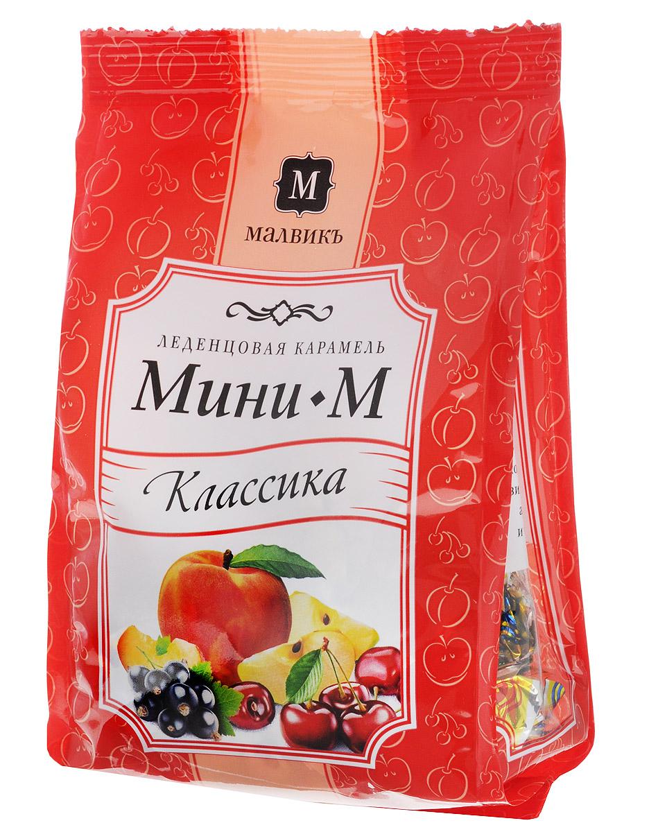 Малвикъ Мини-м Классика леденцовая карамель, 150 г ударница мармелад со вкусом персика 325 г