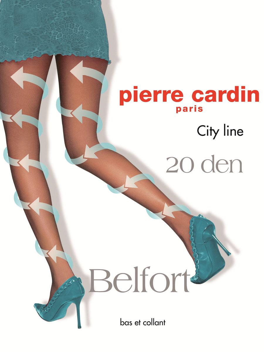 Колготки Pierre Cardin Belfort 20, цвет: Nero (черный). Размер 4 (46/48)Cr Belfort 20Стильные классические колготки Pierre Cardin Belfort, изготовленные из эластичного полиамида с добавлением хлопка, идеально дополнят ваш образ.Шелковистые, однородные по всей длине колготки легко тянутся, что делает их комфортными в носке. Гладкие и мягкие на ощупь, они имеют комфортные швы, гигиеническую ластовицу из хлопка, укрепленный прозрачный мысок и отформованную пятку. При носке модель оказывает микромассажный, антицеллюлитный эффект. Благодаря градуированному давлению на ногу, активизируется циркуляция крови. Резинка на поясе обеспечивает комфортную посадку. Идеальное облегание и комфорт гарантированы при каждом движении.