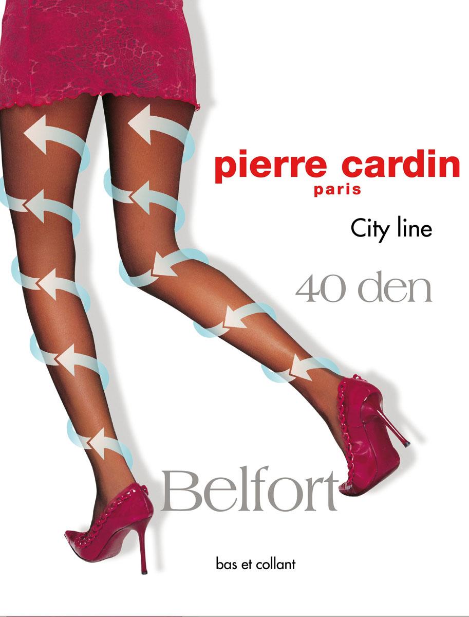 Колготки Pierre Cardin Belfort 40, цвет: Nero (черный). Размер 3 (44/46)Cr Belfort 40Стильные классические колготки Pierre Cardin Belfort, изготовленные из эластичного полиамида с добавлением хлопка, идеально дополнят ваш образ.Шелковистые, однородные по всей длине колготки легко тянутся, что делает их удобными в носке. Гладкие и мягкие на ощупь, они имеют комфортные швы, гигиеническую ластовицу из хлопка, укрепленный прозрачный мысок и отформованную пятку. При носке модель оказывает микромассажный, антицеллюлитный эффект. Благодаря градуированному давлению на ногу, активизируется циркуляция крови. Резинка на поясе обеспечивает комфортную посадку. Идеальное облегание и комфорт гарантированы при каждом движении.