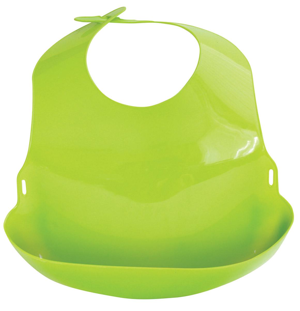 Lubby Нагрудник цвет салатовый -  Все для детского кормления