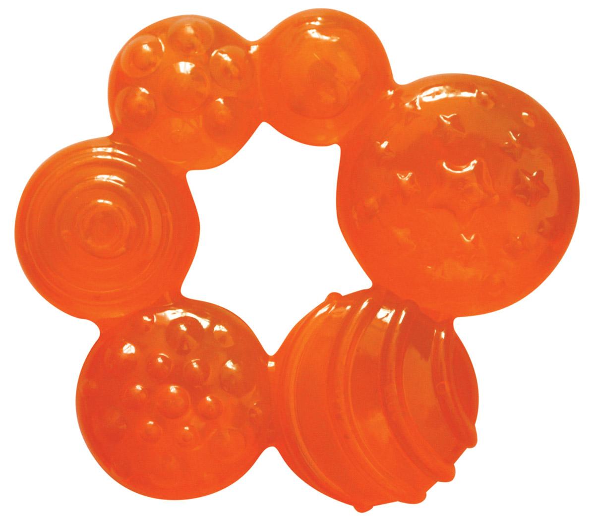 Lubby Прорезыватель Геометрия цвет оранжевый купить через интернет магазин морозильную камеру