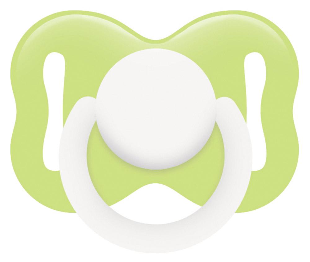 Lubby Пустышка латексная Круглая от 0 месяцев цвет светло-зеленый