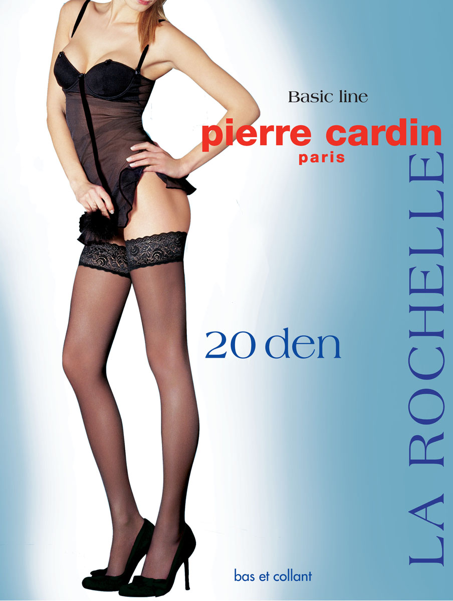 Чулки Pierre Cardin La Rochelle, цвет: Nero (черный). Размер 4 (46/48) ноутбук lenovo thinkpad edge e31 80 13 3 1366x768 intel core i3 6006u 500 gb 4gb intel hd graphics 520 черный windows 10 home 80mx0176rk