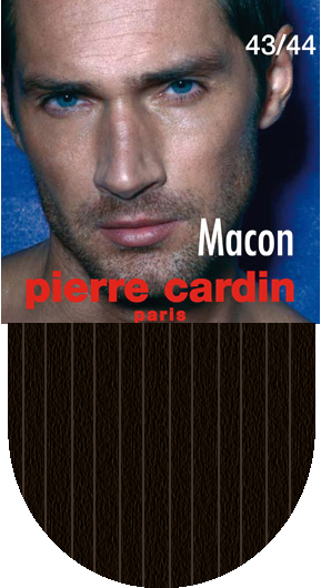 Носки мужские Pierre Cardin Macon, цвет: коричневый. Размер 2 (39/40)Cr MaconКлассические мужские носки Pierre Cardin изготовлены из высококачественного хлопка с добавлением полиамида и эластомера, что обеспечивает комфортную посадку. Модель выполнена в элегантном однотонном дизайне с тиснением полосками, паголенок декорирован изображением логотипа бренда. Благодаря использованию тончайших волокон мерсеризированного хлопка, кожа в таких носках дышит. Двойная, широкая, эластичная резинка идеально облегает ногу и не пережимает сосуды.