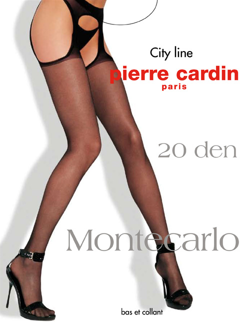 Чулки Pierre Cardin Montecarlo, цвет: Nero (черный). Размер 4 (46/48)