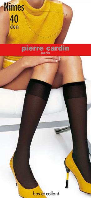 Гольфы женские Pierre Cardin Nimes, цвет: Nero (черный). Размер 35/41Cr NimesГольфы Pierre Cardin Nimes на шелковистой, эластичной основе с прозрачным мыском. Широкая эластичная резинка плотно облегает ногу, не сдавливая ее, обеспечивая комфорт и удобство.