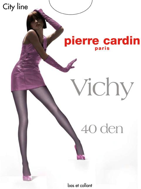 Колготки Pierre Cardin Vichy, цвет: Fumo (темно-серый). Размер 4 (46/48) колготки pierre cardin cr toulouse 200 цвет fumo темно серый размер 4