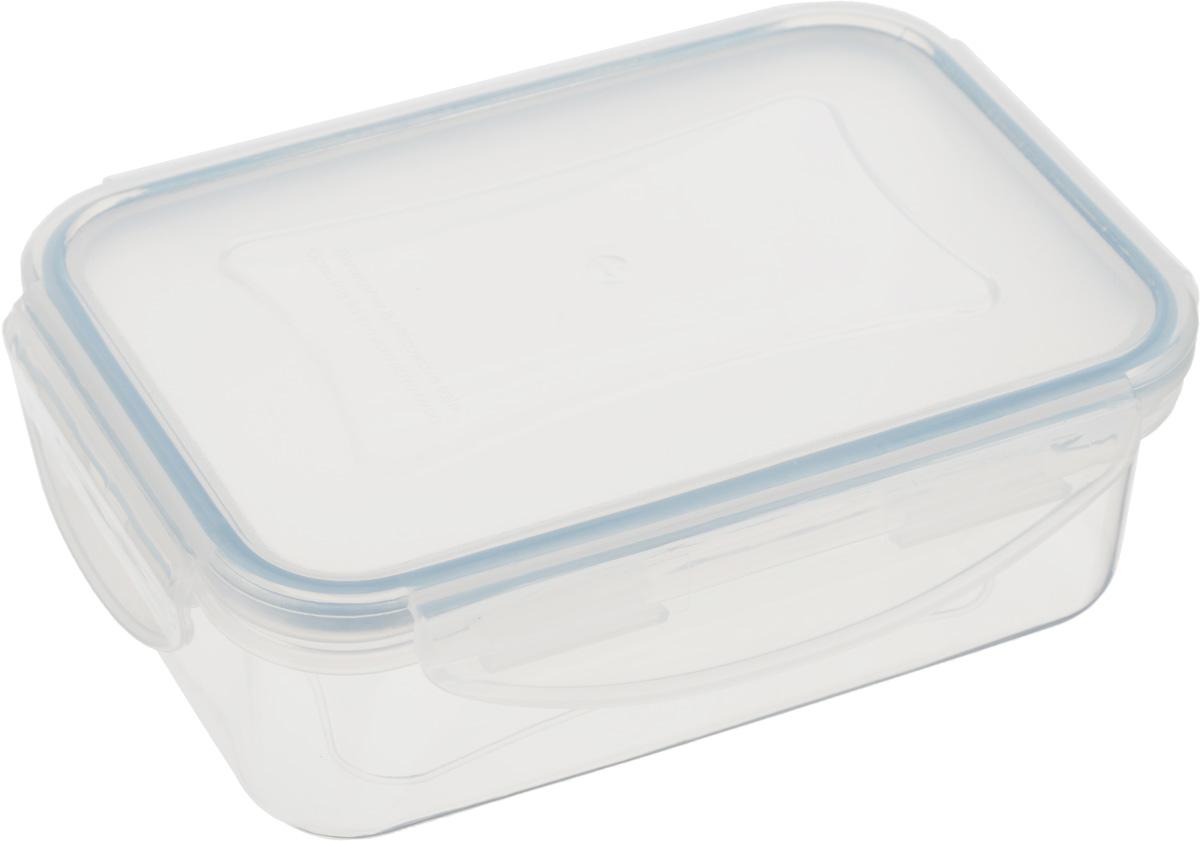 Контейнер Tescoma Freshbox, прямоугольный, 400 мл892062Контейнер Tescoma Freshbox, изготовленный из прочного пластика, отлично подходит для хранения и разогрева блюд. Герметичная крышка имеет силиконовый уплотнитель, пища остается свежей дольше и не протекает при перевозке. Подходит для холодильника, морозильных камер, микроволновой печи и посудомоечной машины.