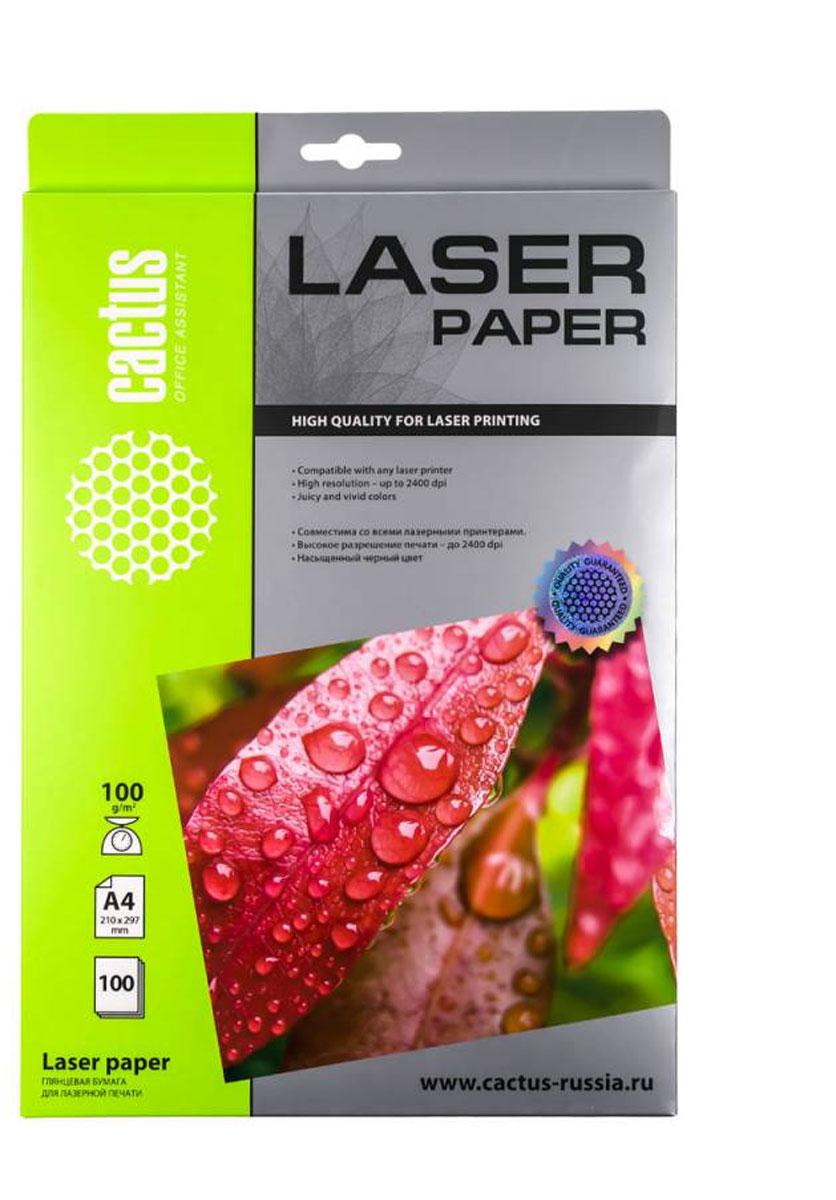 Cactus CS-LPA4100100 глянцевая фотобумага для лазерной печатиCS-LPA4100100Глянцевая фотобумага Cactus CS-LPA4100100 для лазерной печати.Запечатлевайте лучшие мгновения вашей жизни в сочных и насыщенных цветах. Представляйте яркие и красочныепрезентации. Наслаждайтесь отпечатками высочайшего качества. Глянцевая фотобумага Cactus представляетсобой оптимальное сочетание цены и качества. Она отлично подходит для печати памятных фотографий в фото- рамку или фотоальбом. Обладая приятным глянцевым блеском, она украсит ваши фотографии и презентации. Авысококлассное покрытие позволит добиться максимально точной цветопередачи, что будет полезно при печатимакетов и web-графики.