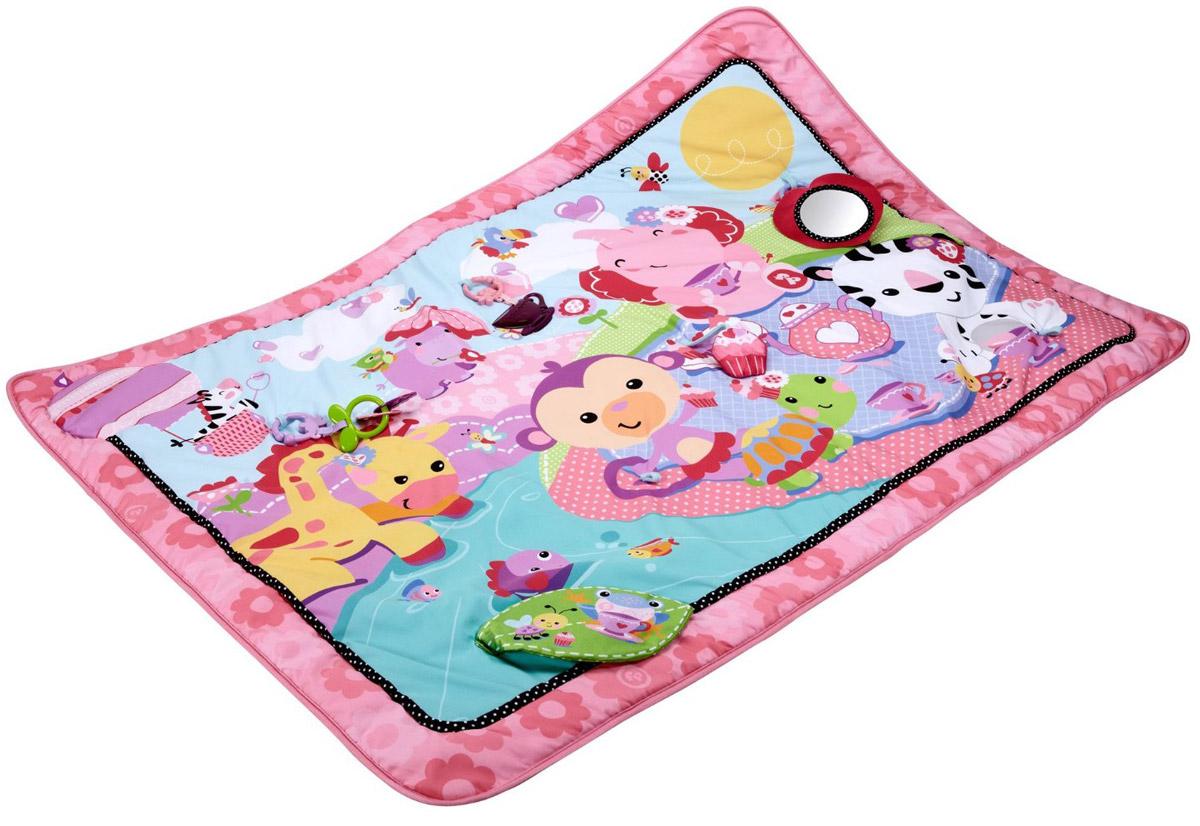 Fisher-Price Развивающий коврик цвет розовый