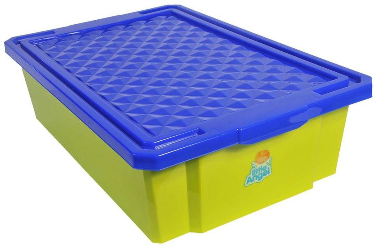 Little Angel Детский ящик для хранения игрушек 30 л цвет фисташковый