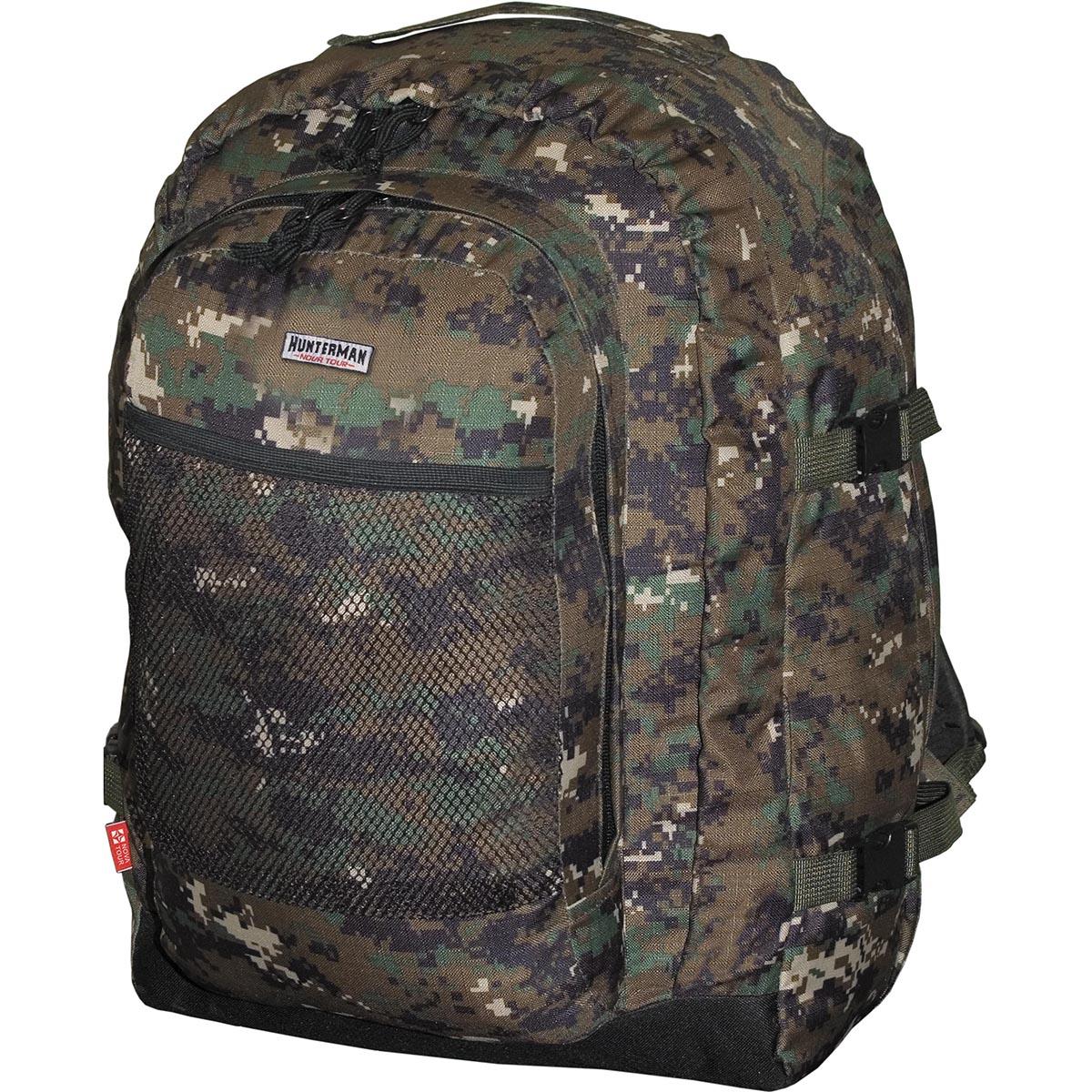 Рюкзак для охоты HunterMan Nova Tour  Бекас 55 V3 , цвет: темно-зеленый, 55 л - Охота