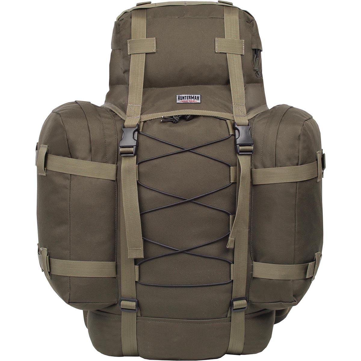 Рюкзак для охоты HunterMan Nova Tour Контур 75 V3, цвет: зеленый, 75 л рюкзак для охоты nova tour медведь 100 v3 км
