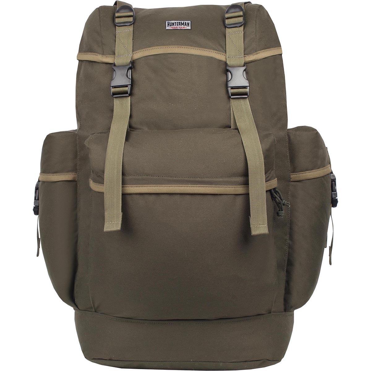 Рюкзак для охоты Hunter Nova Tour Охотник 50 V3, цвет: зеленый, 50 л рюкзак nova tour hunterman охотник 70 v3 км forest