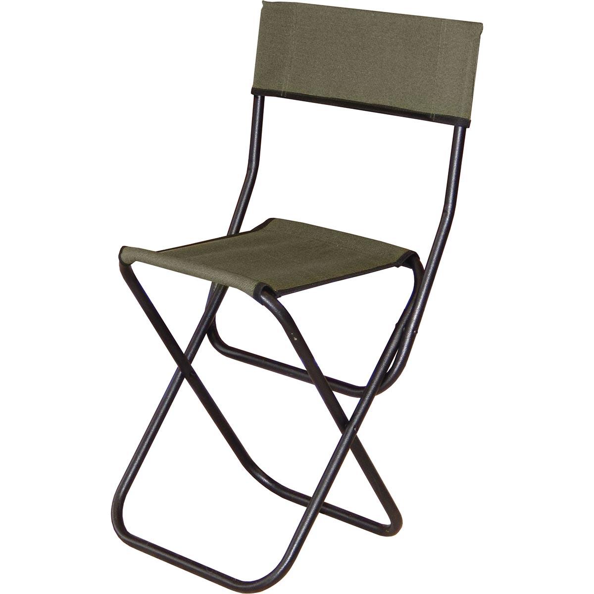 Стул складной Greenell FC-15 R16, цвет: хаки95857-502-00Складной стул Greenell FC-15 R16 прекрасно подходит для кемпингового отдыха на природе и для любителей путешествий. Стул весит немного, это возможно из-за композитного каркаса, ткань же сделана из полиэстера, что не позволяет выгореть краске и снижает вес изделия. Не терпит постоянной сырости. Отличный, бюджетный вариант для периодических вылазок на природу или дачу.Характеристики:Материал: Polyester.Каркас: Сталь O,16 мм. Полимерное покрытие.Вес: 1,35 кг.Размеры: 33,5 х 29 х 42 см.Высота со спинкой: 67,5 см.,Максимальная нагрузка: 90 кг.