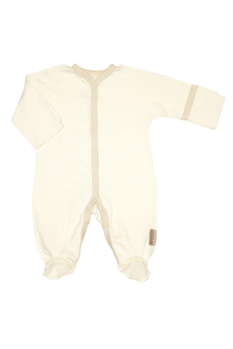 Комбинезон детский Linea di sette, цвет: молочный. 08-0606. Размер 50, 1 месяц комбинезон с брюками bel di