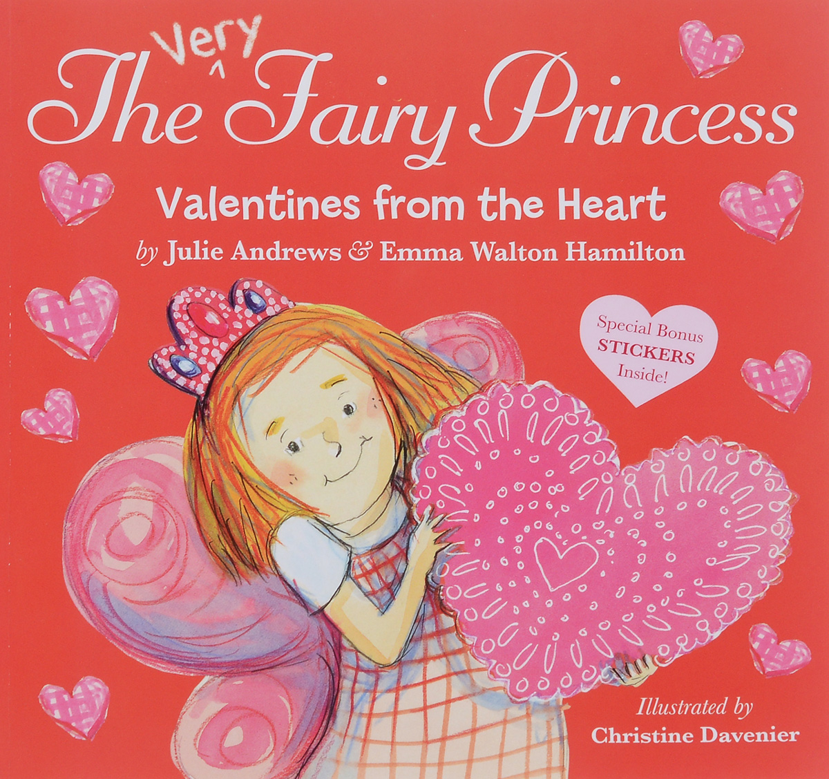 The Very Fairy Princess: Valentines from the Heart (+ наклейки) купить