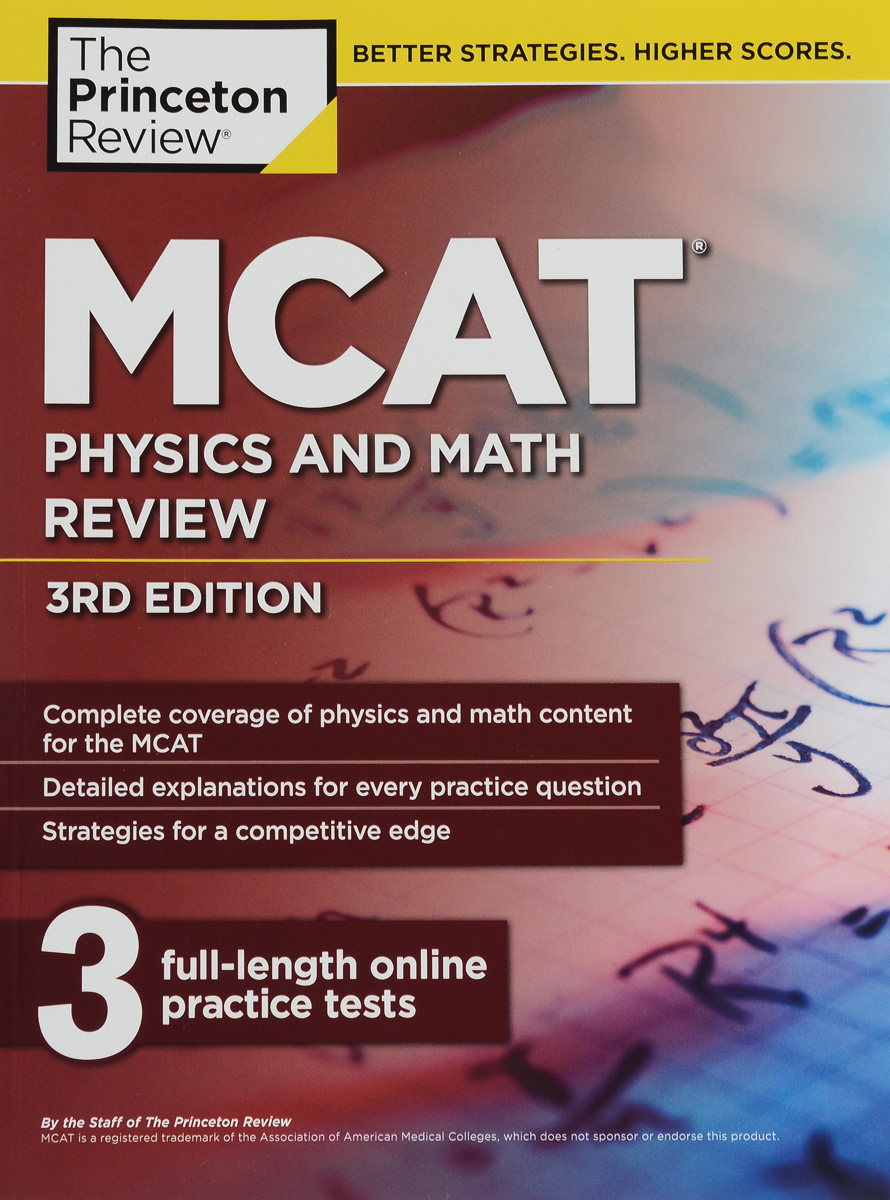 MCAT Physics And Math Review цены