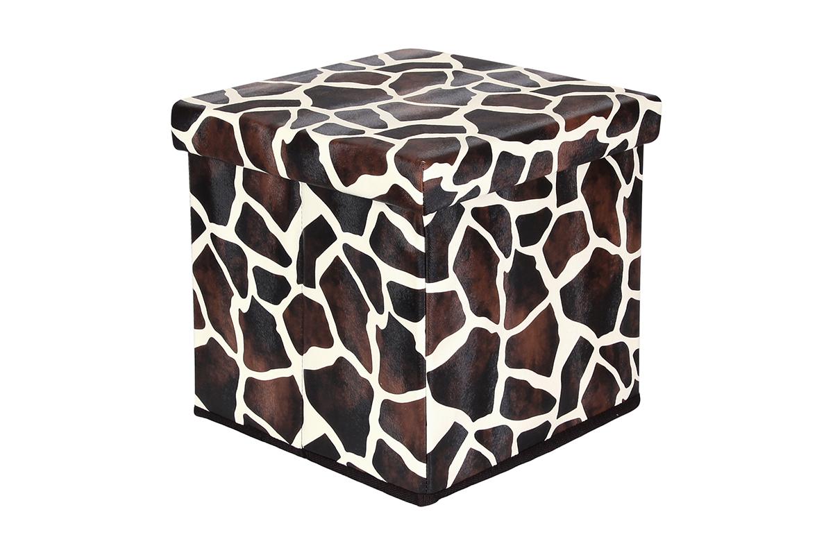 Пуф El Casa Жираф, складной, с ящиком для хранения, 33 х 33 х 31 см пуф складной с ящиком для хранения 53 33 31 см красный 1135327