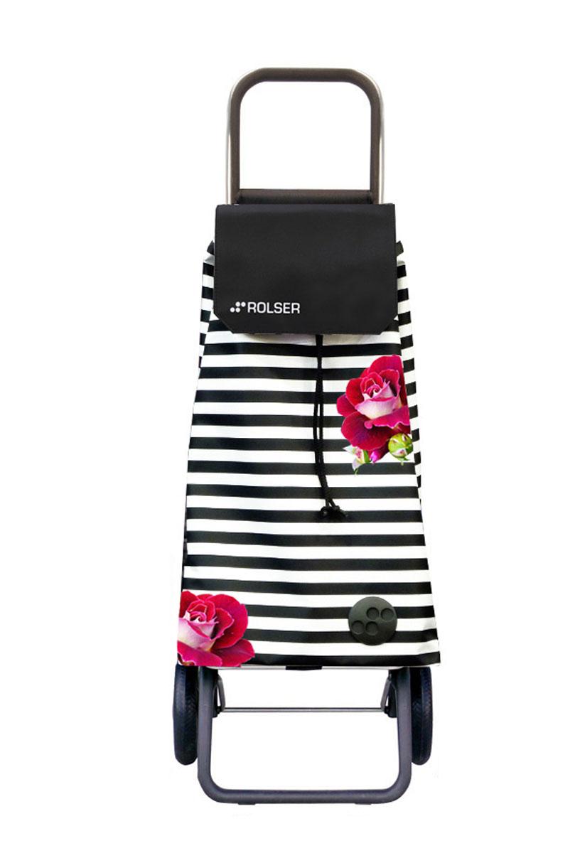 Сумка хозяйственная Rolser, на колесиках, цвет: белый, черный, малиновый, 59 лMOU128 rosa marina blanco-negroАлюминиевая тележка для покупок Rolser с 2 колесами. Колеса выполнены из резины EVA. Складываемая передняя подставка, занимает минимальное место в сложенном виде при хранении. Сумка имеет форму рюкзака, ткань полиэстер, влагоустойчивая, имеет удобное закрытие сумки и легко крепиться на раме. Тележка не складывается. Объем: 59 л. Диаметр колес: 16,5 см. Рекомендованная нагрузка: 25 кг.Чистка ручная или химчистка.