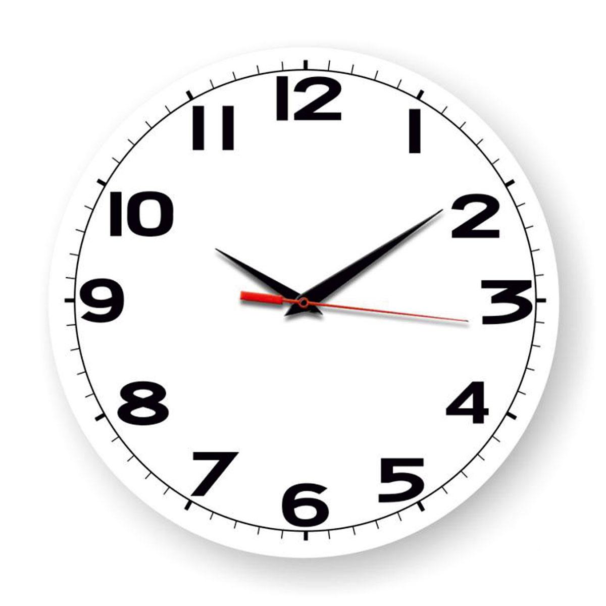 Часы настенные Miolla Дети, цвет: черный, белыйСК011 2905Оригинальные настенные часы круглой формы выполнены из закаленного стекла.Часы имеют три стрелки - часовую, минутную и секундную и циферблат с цифрами.Необычное дизайнерское решение и качество исполнения придутся по вкусукаждому. Диаметр часов: 28 см. Часы работают от 1 батарейки типа АА напряжением 1,5 В.