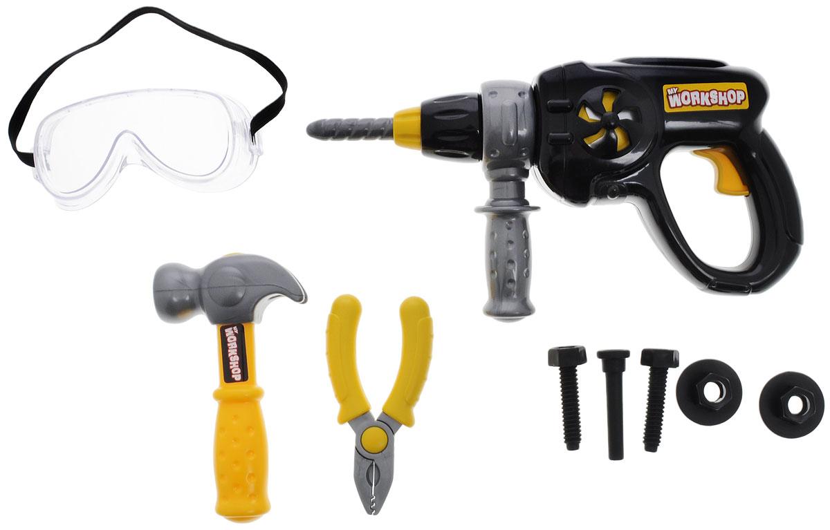 Keenway Набор игрушечных инструментов My Workshop 9 предметов набор строительных инструментов keenway