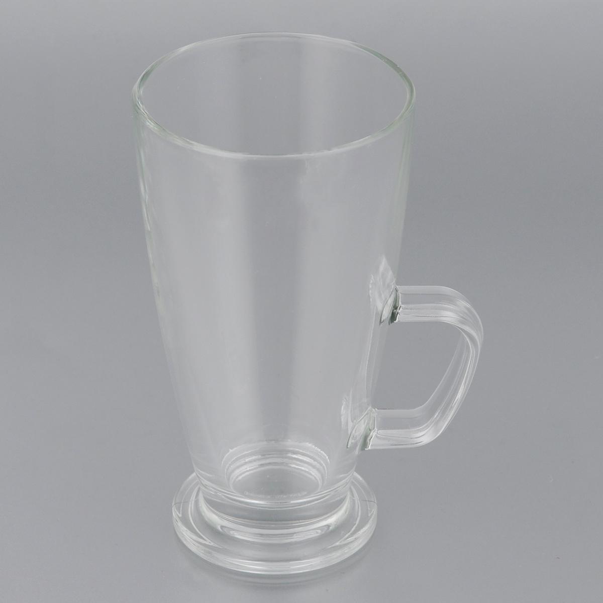 """Кружка Tescoma """"Crema"""", изготовленная из прочного стекла, прекрасно дополнит  интерьер вашей кухни. Изящный дизайн кружки придется по вкусу и ценителям  классики, и тем, кто предпочитает утонченность и изысканность.  Кружка Tescoma """"Crema"""" станет хорошим подарком к любому празднику.  Диаметр (по верхнему краю): 7,5 см. Высота: 14 см."""
