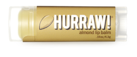 Hurraw! Бальзам для губ Almond Lip Balm, 4,3 г hurraw бальзам для губ grapefruit lip balm 4 3 г