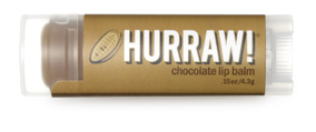 Hurraw! Бальзам для губ Chocolate Lip Balm, 4,3 г бальзамы hurraw бальзам для губ hurraw mint lip balm