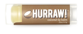 Hurraw! Бальзам для губ Coconut Lip Balm, 4,3 г бальзамы hurraw бальзам для губ hurraw mint lip balm
