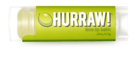 Hurraw! Бальзам для губ Lime Lip Balm, 4,3 г hurraw бальзам для губ coconut lip balm 4 3 г