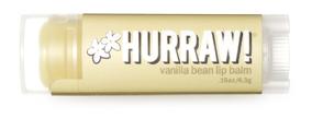 Hurraw! Бальзам для губ Vanilla Bean Lip Balm, 4,3 г бальзамы hurraw бальзам для губ hurraw licorice lip balm
