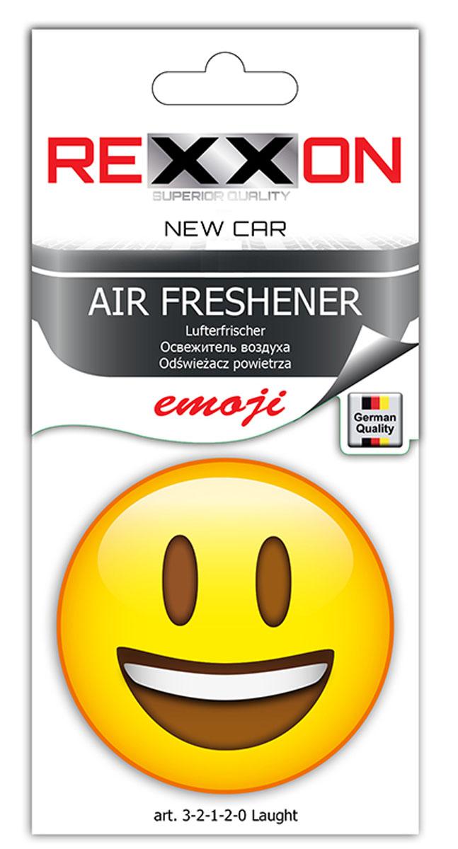 Ароматизатор REXXON Smail. Смех3-2-1-2-0Ароматизатор для автомобиля в форме веселого смайлика.