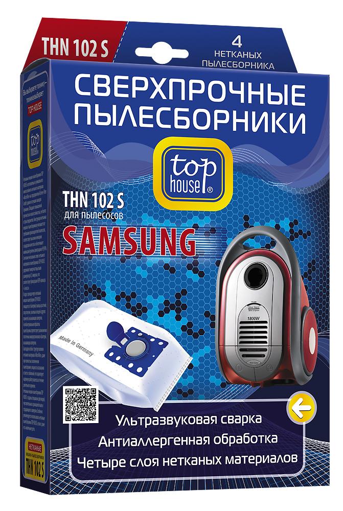 Top House THN 102 S нетканые пылесборники (4 шт.) 64904
