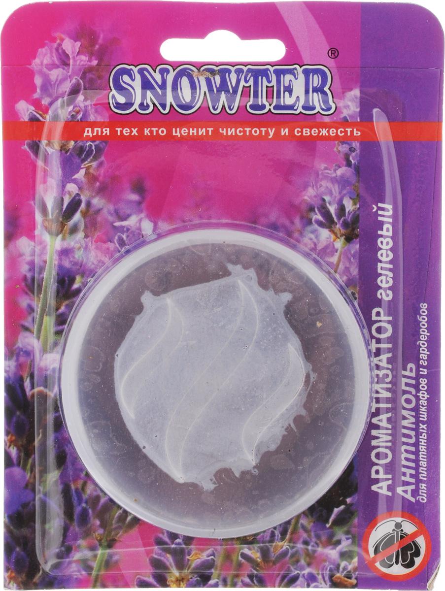 Ароматизатор воздуха Snowter Лаванда-антимоль, гелевый, 50 мл4602083001392Гелевый ароматизатор Snowter Лаванда- антимоль имеет приятный аромат,нейтрализующий запах. Предназначен для жилыхкомнат и функциональных помещений (ванные итуалетные комнаты), салонов автомобилей.Эффективно защищает от моли в течение 45 дней.Состав: деионизированная вода, отдушка,консервант, ПАВ.Диаметр ароматизатора: 7 см, Высота: 1,5 см.