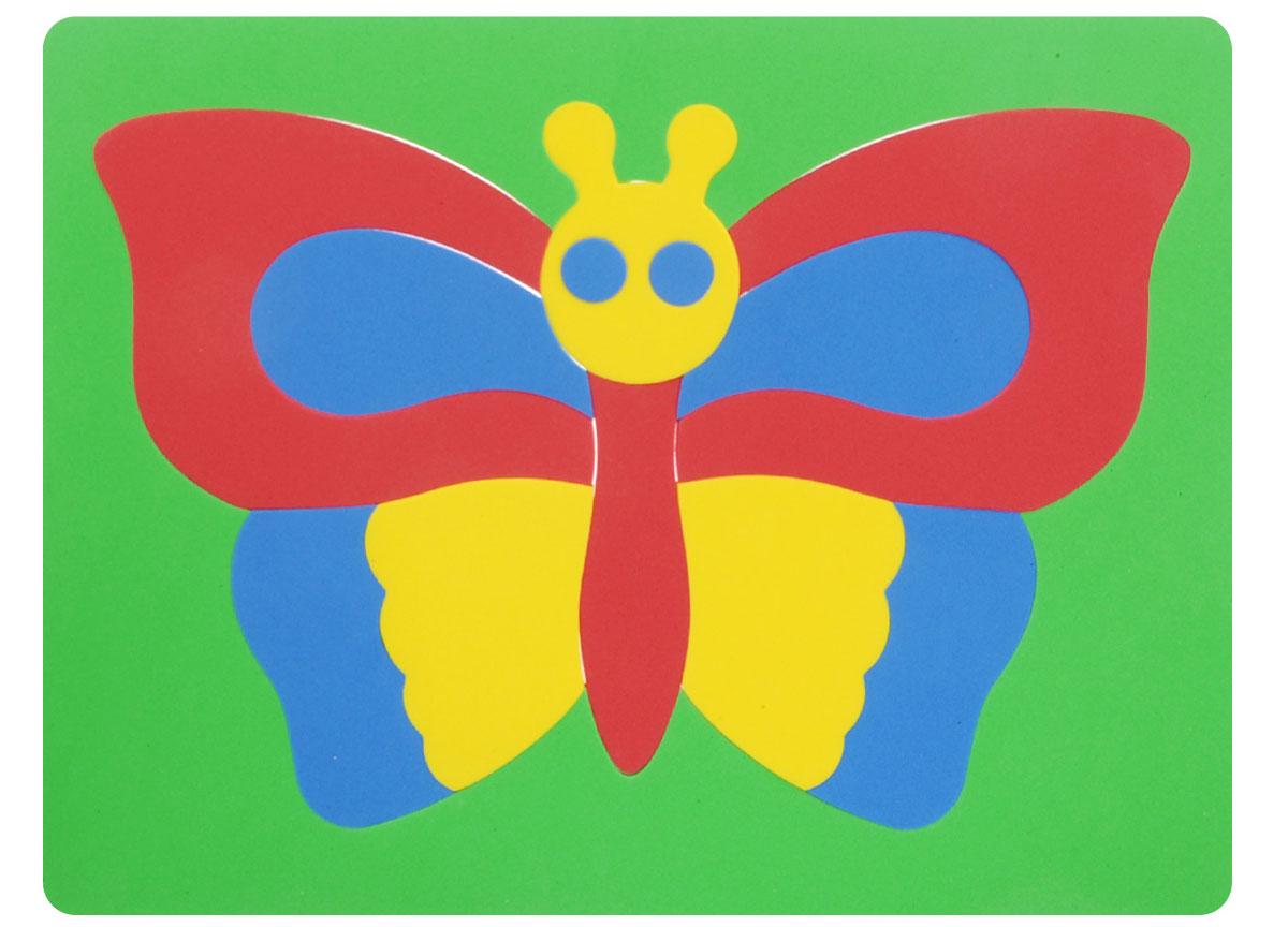 Фантазер Пазл для малышей Бабочка флексика пазл для малышей геометрия цвет основы красный