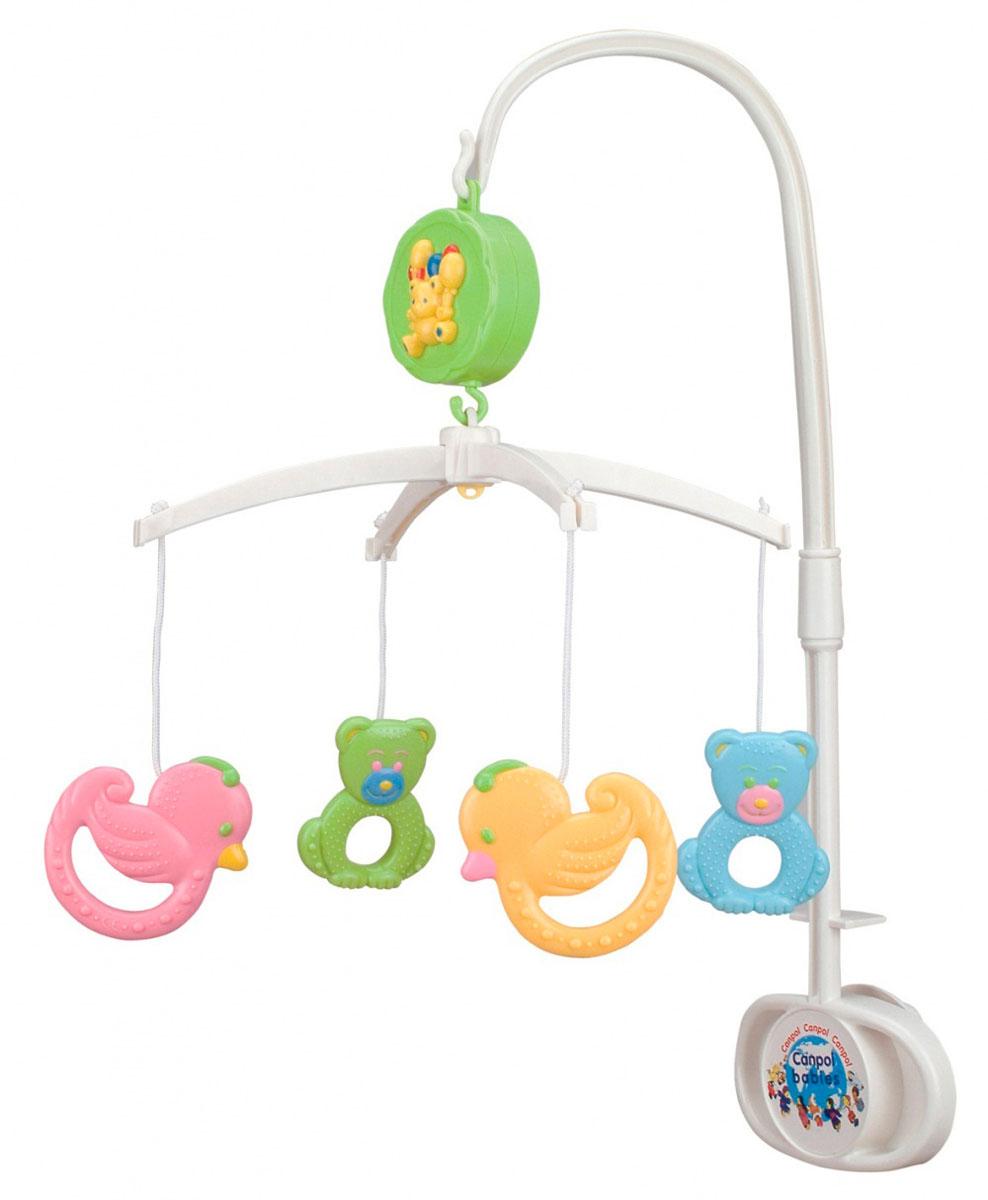 Canpol Babies Музыкальный мобиль Мишки и утки музыкальный мобиль baby mix мишки на волнах 423