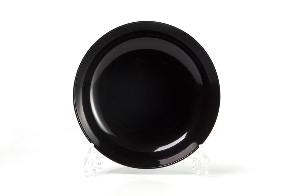 Тарелка глубокая La Rose des Sables Putoisage Noir, диаметр 23 см550221 3063Тарелка La Rose des Sables Putoisage Noir, изготовленная из высококачественного фарфора, имеет классическую круглую форму. Она прекрасно впишется в интерьер вашей кухни и станет достойным дополнением к кухонному инвентарю. Тарелка La Rose des Sables Putoisage Noir подчеркнет прекрасный вкус хозяйки и станет отличным подарком.Диаметр тарелки (по верхнему краю): 23 см.