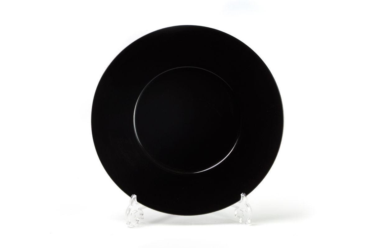 """Тарелка La Rose des Sables """"Putoisage Noir"""", изготовленная из высококачественного фарфора, имеет классическую круглую форму. Она прекрасно впишется в интерьер вашей кухни и станет достойным дополнением к кухонному инвентарю. Тарелка La Rose des Sables """"Putoisage Noir"""" подчеркнет прекрасный вкус хозяйки и станет отличным подарком.Диаметр тарелки (по верхнему краю): 23 см."""