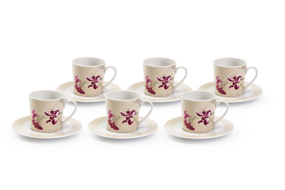 Набор кофейный La Rose des Sables Liberty, 12 предметов набор la