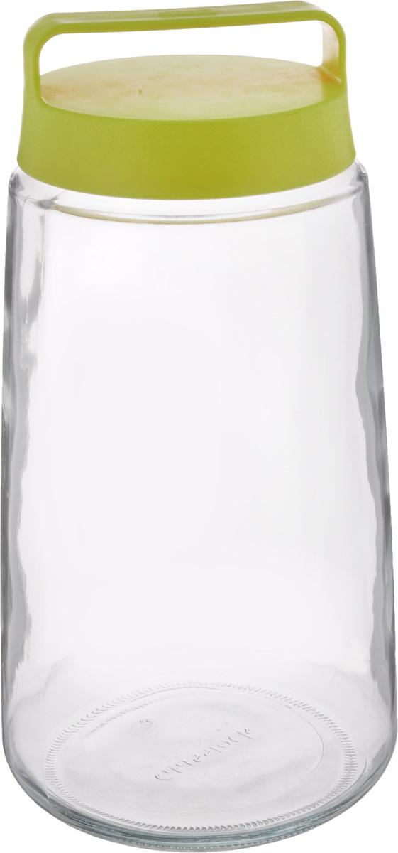 """Контейнер """"Glasslock"""" изготовлен из высококачественного стекла и пластика. Изделие прозрачное, что позволяет видеть содержимое, это очень удобно и практично. Специальная крышка плотно закрывается, предотвращая попадание влаги. Изделие оснащено специальной насадкой с отверстиями для слива жидкости. Контейнер очень вместителен, в нем можно хранить макароны, крупы и другие сыпучие продукты, а также варенье или компоты. Идеальный вариант для поддержания порядка на кухне.  Можно мыть в посудомоечной машине. Не рекомендуется использовать в духовом шкафу и микроволновой печи. Диаметр по верхнему краю: 12 см. Диаметр дна: 15 см. Высота (без учета крышки): 26 см."""