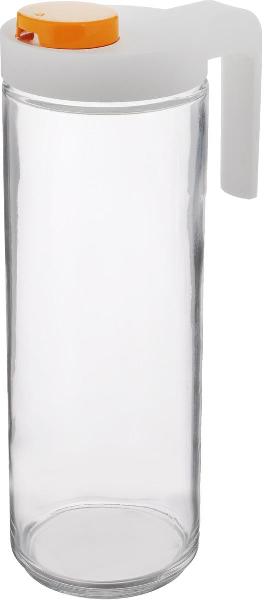 Емкость для масла Glasslock, 1,05 лIP-609SЕмкость Glasslock, изготовленная из стекла, будетполезна для каждой хозяйки. Она легка виспользовании, стоит толькоперевернуть ее, и вы с легкостью сможете добавитьоливковое, подсолнечноемасло, уксус или соус. Крышкаплотно прилегает к емкости и не позволит жидкостивытечь. Удобный дозатор поможетаккуратно перелить масло или любую другуюжидкость из емкости. Можно мыть впосудомоечной машине. Не рекомендуетсяиспользовать в духовом шкафу и микроволновойпечи. Объем емкости: 1,05 л. Диаметр по верхнему краю: 7 см. Высота емкости (без учета крышки): 24,5 см.