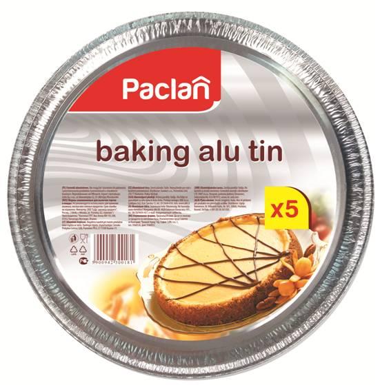 Форма для пиццы Paclan, диаметр 27 см, 5 шт135121/135120/300181Круглая форма для пиццы Paclan, изготовленная из алюминия, подходит также для выпечки тортов и пирогов. Обладает повышенной жаростойкостью, удобна и экономична в использовании.Диаметр формы: 27 см.