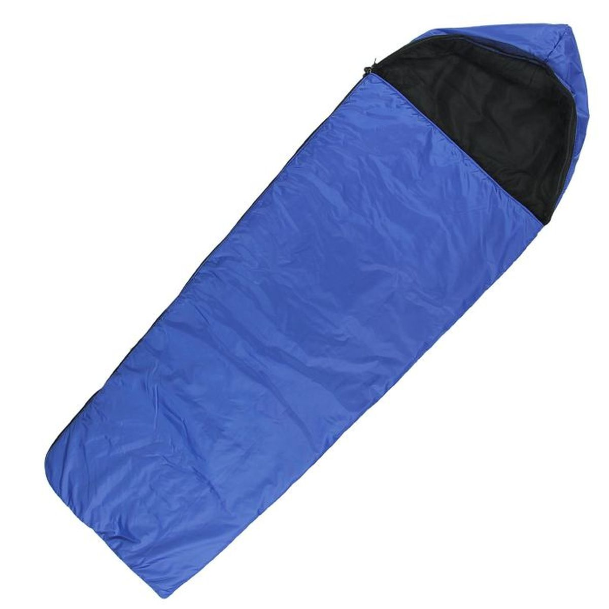 Мешок спальный Onlitop Люкс, цвет: синий, правосторонняя молния спальный мешок onlitop престиж цвет черный бежевый правосторонняя молния 1344029