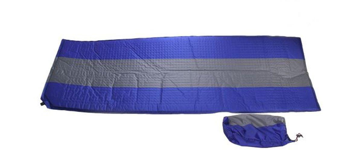 Коврик туристический самонадувающийся Onlitop, 188 х 63 х 2,5 см, цвет: синий134199Самонадувающийся туристический коврик Onlitop является необходимым атрибутом любого туристического похода, выездов за город, рыбалки. Выполнен из полиэстера и поролона. Легкий коврик предназначен для сохранения тепла, комфортного сна и предохранения спального мешка от различных повреждений и влаги. Благодаря компактным размерам его всегда удобно брать с собой.