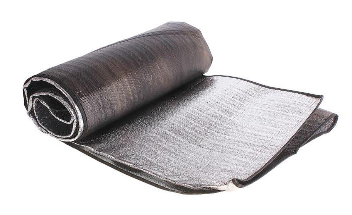 Коврик туристический Onlitop, с алюминиевым покрытием, 150 х 200 см488984Туристический коврик с алюминиевым покрытием Onlitop является необходимым атрибутом любого туристического похода, выездов за город, рыбалки. Выполнен из клеенки и фольги. Легкий коврик предназначен для сохранения тепла, комфортного сна и предохранения спального мешка от различных повреждений и влаги.Размер: 150 х 200 см.