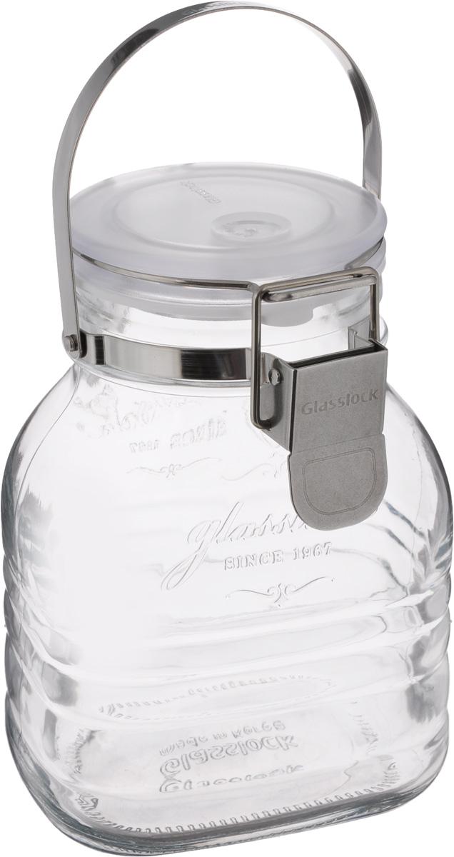 Банка для сыпучих продуктов Glasslock, 1 лIP-634Банка Glasslock, выполненная из стекла, отличноподойдет для хранения как сыпучих продуктов (чай,крупы, сахар, орехи), так и жидкостей, так как имеетспециальный силиконовый вкладыш. Крышкаплотно закрывается с помощью металлическогозажима-клипсы, дольше сохраняясвежесть продуктов. Изделие устойчиво квнешним воздействиям, не пропускает влагу, пыль изапаха. Такая банка стильно дополнит интерьер ипоможет дольшехранить продукты. Не рекомендуется использовать в духовом шкафу и микроволновой печи. Не рекомендуются высокиеперепады температур. Диаметр: 8 см.Высота (без учета крышки): 16,5 см.