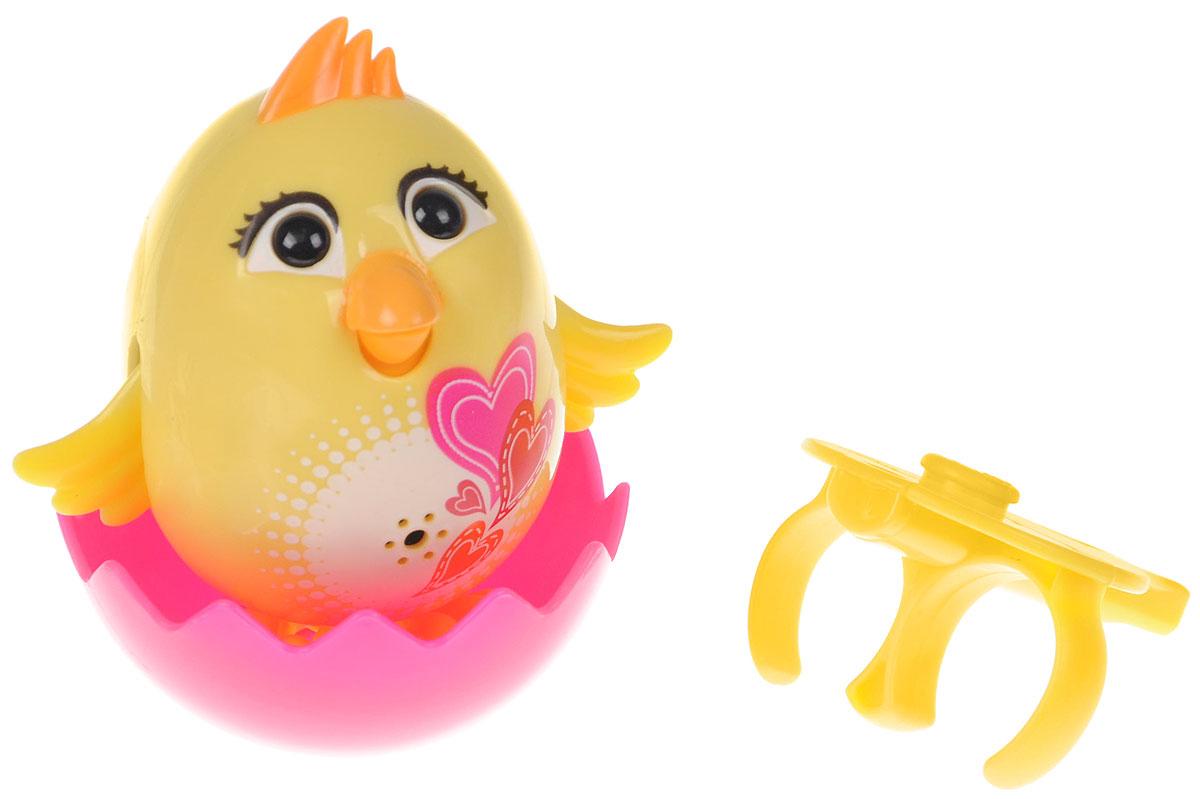 DigiFriends Интерактивная игрушка Цыпленок с кольцом цвет желтый интерактивная игрушка digifriends аква крокодил в ассортименте