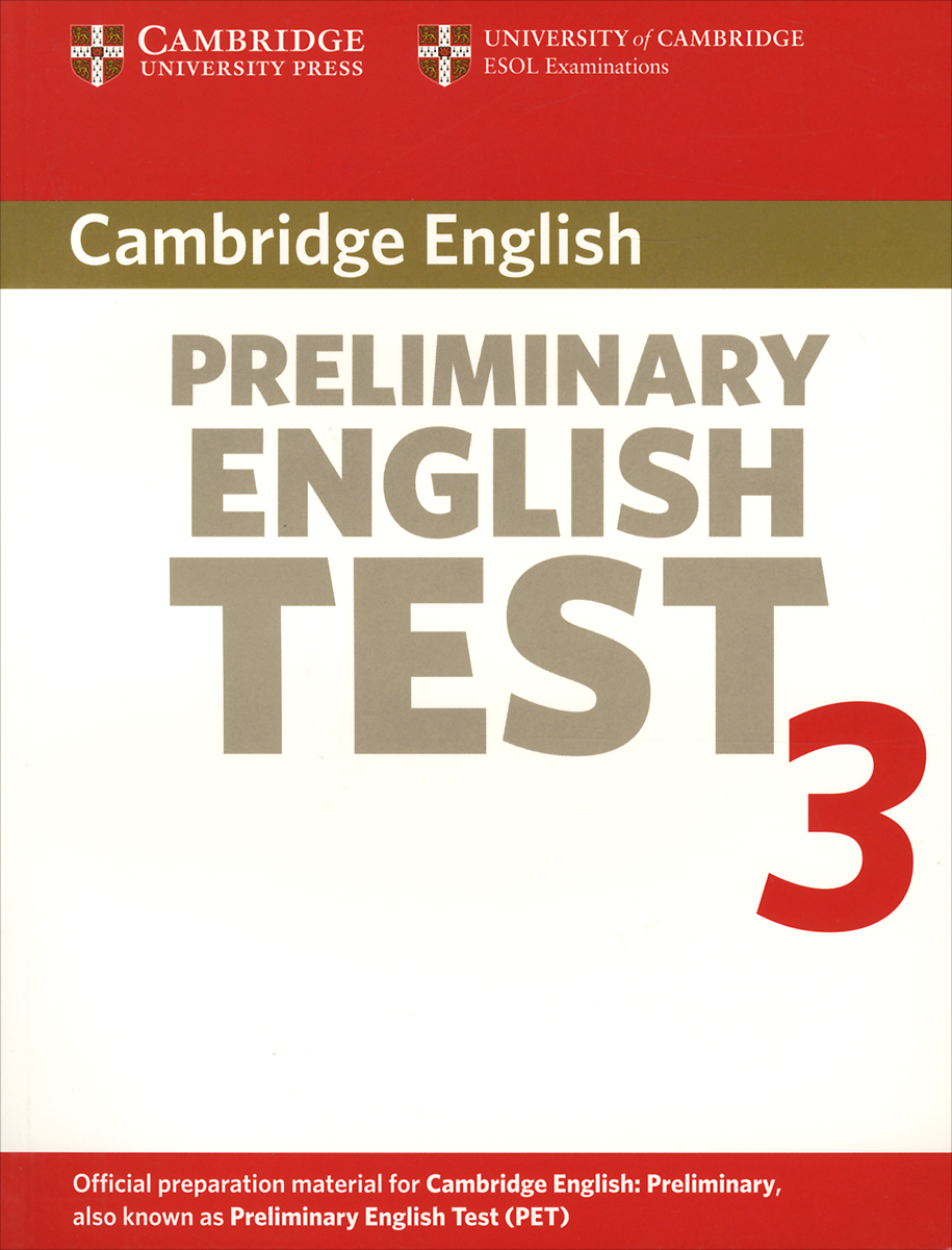 Preliminary English Test 3 cambridge english preliminary 7 student s book with answers